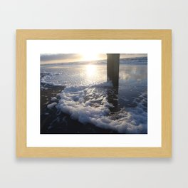 Sunset North Sea Framed Art Print
