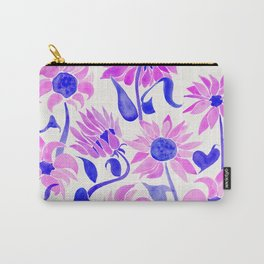 Sunflower Watercolor – Indigo Palette Carry-All Pouch