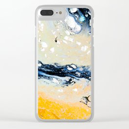 Sunny Flow Clear iPhone Case