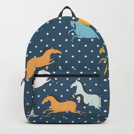 Wild horses Backpack