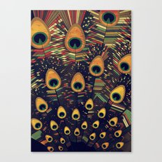visual melody 3 Canvas Print