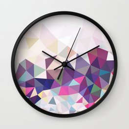 Travelling Tris Wall Clock