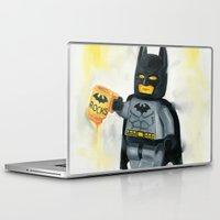 superhero Laptop & iPad Skins featuring Lego Superhero by Toys 'R' Art
