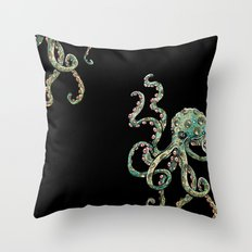 Octopodes Throw Pillow