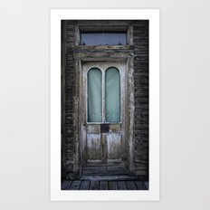 Arched Door Art Print