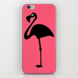 Angry Animals: Flamingo iPhone Skin