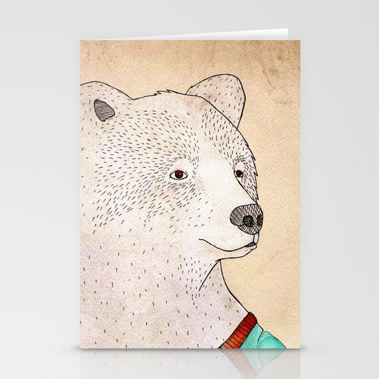 Señor Oso Stationery Cards