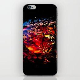 Fierce Leopard  iPhone Skin