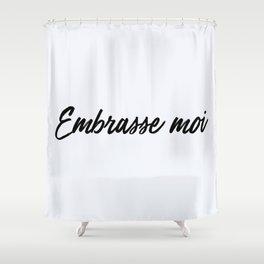 102. Kiss Me Shower Curtain