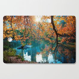 Magical Fall Cutting Board