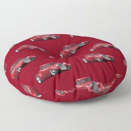 Custom 30s American Red Hot Rod Floor Pillow