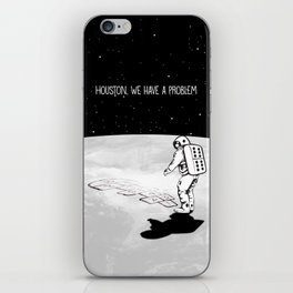 Houston, we have a problem iPhone Skin