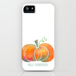Hello Gourdgeous iPhone Case