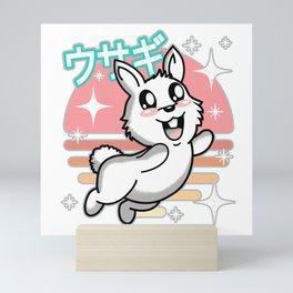 Cute Kawaii Rabbit Mini Art Print
