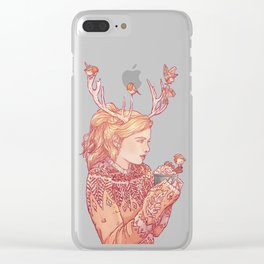 December Lady Clear iPhone Case
