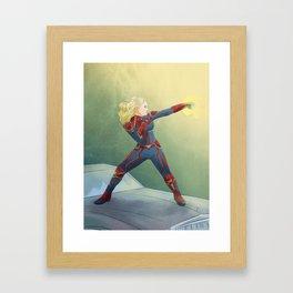 Capn Marvelous Framed Art Print