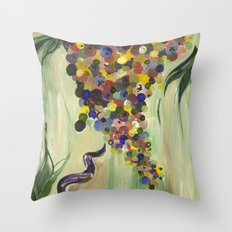 Skip a Step Throw Pillow