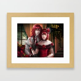 Grell and Madam Red Framed Art Print