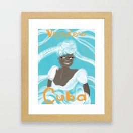 Bienvenido! Las Isla de Paradiso Framed Art Print