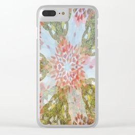 """ Salvia And Butterflies "" Clear iPhone Case"