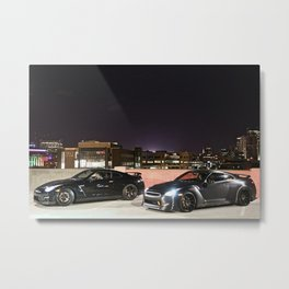 Nissan GTR Metal Print