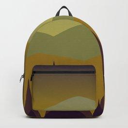 Dusk   Stylized Digital Landscape Backpack