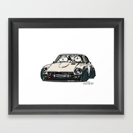 Crazy Car Art 0155 Framed Art Print