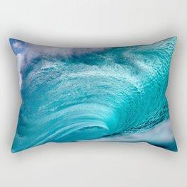 Blue Crush Rectangular Pillow