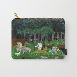 1945 American American Masterpiece 'Holy Mountain III' by Horace Pippin Carry-All Pouch