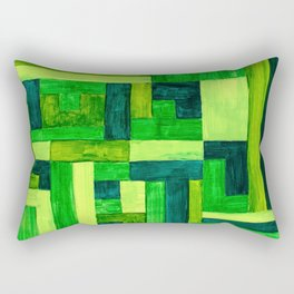 Garden Blocks Rectangular Pillow