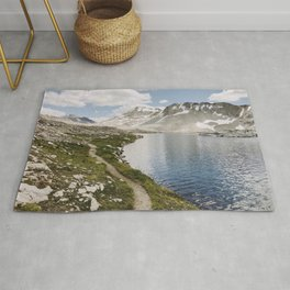 High Sierra Lake Rug