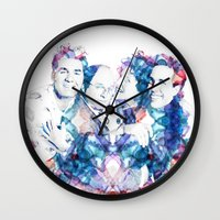 seinfeld Wall Clocks featuring Seinfeld by NKlein Design