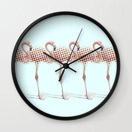 Under Construction Wall Clock