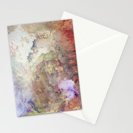 Abstract colorful Art Painting Stationery Cards