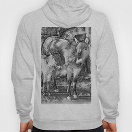 AnimalArtBW_Horse_20170801_by_JAMColorsSpecial Hoody