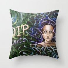 Debbi Thompson - WIP Arts Throw Pillow