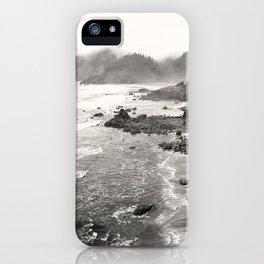 Pacific Ocean Beach Landscape Oregon Coast Northwest PNW Volcano Forest Nature Outdoors Basalt Wilde iPhone Case