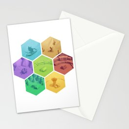 The Resource Conquest - 3D Stationery Cards