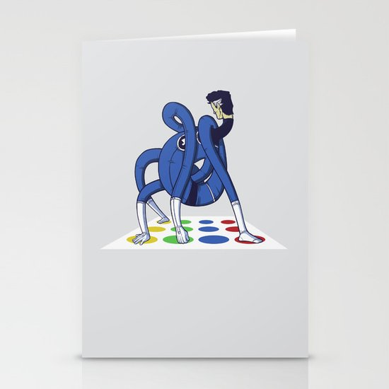 Twister world champion Stationery Cards