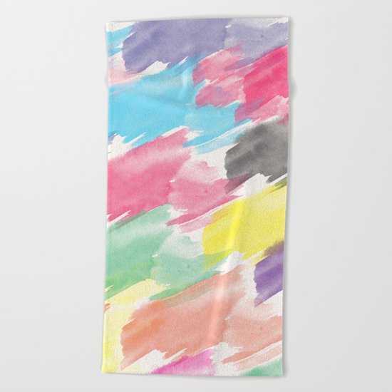 Abstract 38 Beach Towel