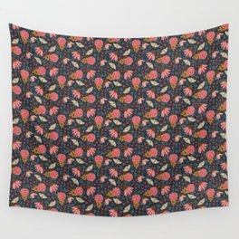 Butterfly Garden Wall Tapestry