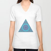 acid V-neck T-shirts featuring Acid by Ziggy Starline