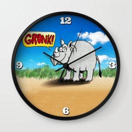 GRONK! Wall Clock