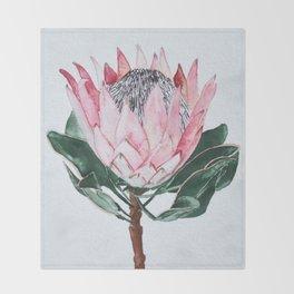 King Protea Throw Blanket