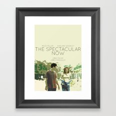 The Spectacular Now Framed Art Print