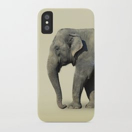 Inner Space Elephant iPhone Case