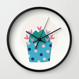 Cactus Collection 01 Wall Clock