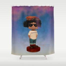 BUZZHOOKAH JOE - 005 Shower Curtain
