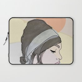 Hills on the background Laptop Sleeve