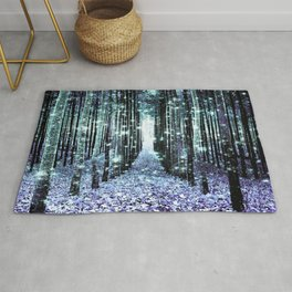 Magical Forest Lavender Aqua/Teal Rug